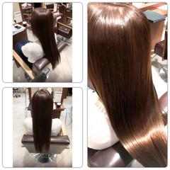 大人かわいい フェミニン 艶髪 ロング ヘアスタイルや髪型の写真・画像