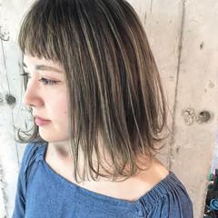 ハイライト 外国人風カラー 外国人風 ローライト ヘアスタイルや髪型の写真・画像