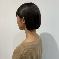 ミニボブ 銀座美容室 ボブ 簡単スタイリング ヘアスタイルや髪型の写真・画像