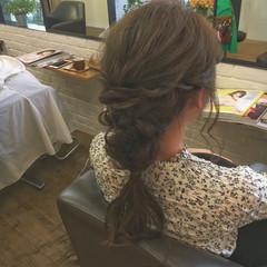 ヘアアレンジ ロング リラックス 大人女子 ヘアスタイルや髪型の写真・画像