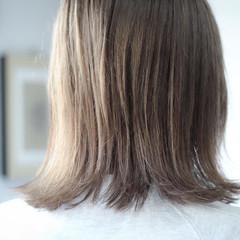 ブリーチ ミディアム ナチュラル ブリーチカラー ヘアスタイルや髪型の写真・画像