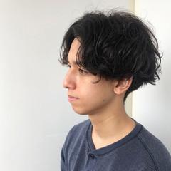 ナチュラル メンズカット メンズ くせ毛風 ヘアスタイルや髪型の写真・画像
