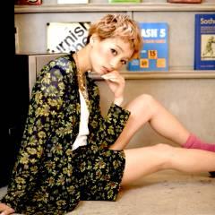 ピンク ベージュ ショート オン眉 ヘアスタイルや髪型の写真・画像