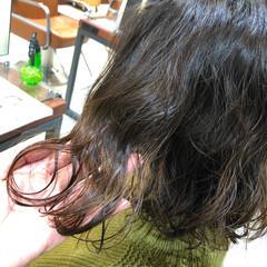 ダメージレス ナチュラル 切りっぱなしボブ ボブ ヘアスタイルや髪型の写真・画像