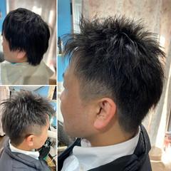 メンズカット メンズショート ストリート ショート ヘアスタイルや髪型の写真・画像