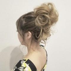 グラデーションカラー ロング ハイトーン 結婚式 ヘアスタイルや髪型の写真・画像