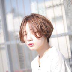 ヘアアレンジ 外国人風カラー エフォートレス ナチュラル ヘアスタイルや髪型の写真・画像