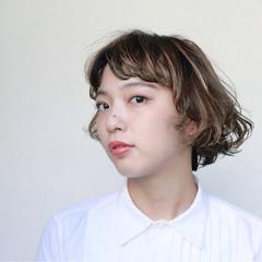 ボブ 外国人風 ショートボブ ガーリー ヘアスタイルや髪型の写真・画像