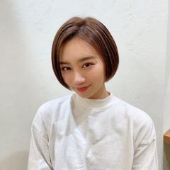 ハンサムショート ショート ショートヘア ショートボブ ヘアスタイルや髪型の写真・画像