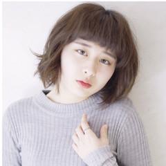 ゆるふわ 大人かわいい 外国人風 暗髪 ヘアスタイルや髪型の写真・画像