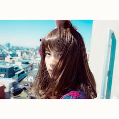 外国人風 ピュア モード パーマ ヘアスタイルや髪型の写真・画像