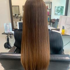 髪質改善カラー ロングヘア 髪質改善トリートメント 大人かわいい ヘアスタイルや髪型の写真・画像
