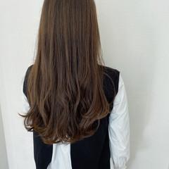 ロング 簡単ヘアアレンジ オリーブアッシュ ナチュラル ヘアスタイルや髪型の写真・画像