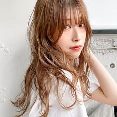 ゆるふわパーマ デジタルパーマ ミディアム パーマ ヘアスタイルや髪型の写真・画像