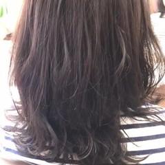 グレー ボブ ミディアム 大人女子 ヘアスタイルや髪型の写真・画像