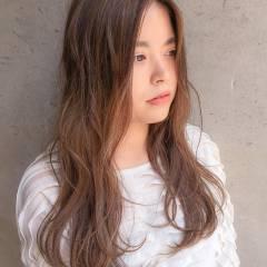 コンサバ 外国人風 グラデーションカラー ダブルカラー ヘアスタイルや髪型の写真・画像