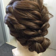 パーティ アップスタイル 結婚式 ロング ヘアスタイルや髪型の写真・画像