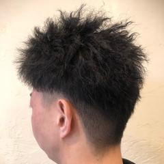 ストリート メンズカット ショート ツイスト ヘアスタイルや髪型の写真・画像