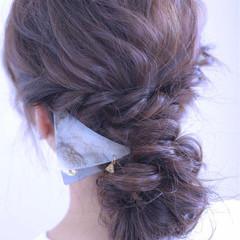 ショート 簡単ヘアアレンジ 大人女子 外国人風 ヘアスタイルや髪型の写真・画像