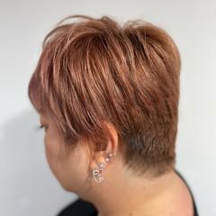ブリーチ必須 ブリーチカラー ショートヘア ストリート ヘアスタイルや髪型の写真・画像
