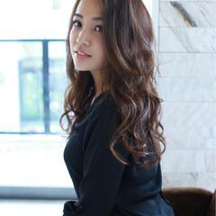 外国人風 ピュア ゆるふわ フェミニン ヘアスタイルや髪型の写真・画像