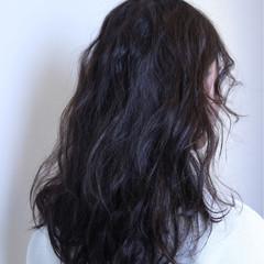 前髪パーマ アッシュ グラデーションカラー ストリート ヘアスタイルや髪型の写真・画像