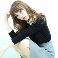 ロング 外国人風カラー モテ髪 コンサバ ヘアスタイルや髪型の写真・画像