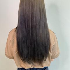 美髪矯正 セミロング 美髪 サラサラ ヘアスタイルや髪型の写真・画像