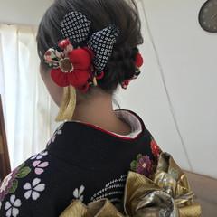 成人式 パーティ ショート エレガント ヘアスタイルや髪型の写真・画像