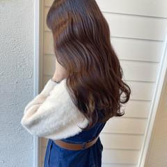 ココアブラウン ショコラブラウン 艶髪 ヨシンモリ ヘアスタイルや髪型の写真・画像