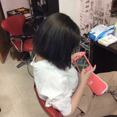 インナーカラー グラデーションカラー アッシュグラデーション ミディアム ヘアスタイルや髪型の写真・画像