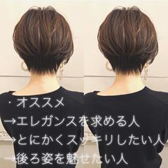 ショートボブ ミニボブ ショート ショートヘア ヘアスタイルや髪型の写真・画像