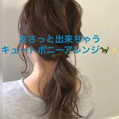 デート ヘアアレンジ 透明感 パーティ ヘアスタイルや髪型の写真・画像