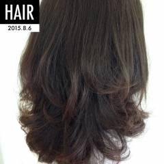 ゆるふわ セミロング ガーリー モテ髪 ヘアスタイルや髪型の写真・画像