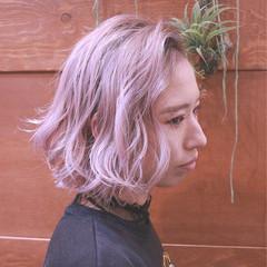 アンニュイ バレイヤージュ ゆるふわ ハイライト ヘアスタイルや髪型の写真・画像