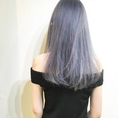 アッシュ ブルージュ 外国人風 ストリート ヘアスタイルや髪型の写真・画像