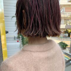 モード ミニボブ ショートボブ ショートヘア ヘアスタイルや髪型の写真・画像