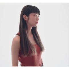 外国人風 ハイライト 前髪あり モード ヘアスタイルや髪型の写真・画像