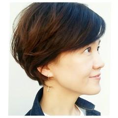 こなれ感 斜め前髪 色気 エレガント ヘアスタイルや髪型の写真・画像