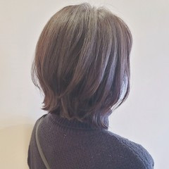 ショートボブ くびれボブ ナチュラル 外ハネボブ ヘアスタイルや髪型の写真・画像