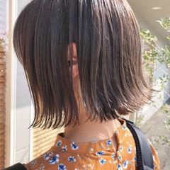 ナチュラル グレージュ イルミナカラー 外国人風 ヘアスタイルや髪型の写真・画像