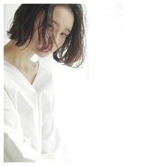 外国人風 大人かわいい 小顔 ボブ ヘアスタイルや髪型の写真・画像
