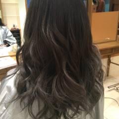 モード ストリート 暗髪 ヘアスタイルや髪型の写真・画像