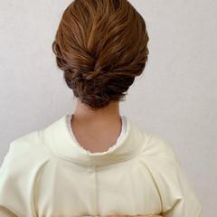 着物 ミニボブ 結婚式 和装ヘア ヘアスタイルや髪型の写真・画像