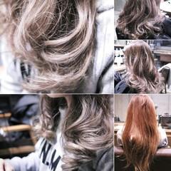 こなれ感 小顔 ハイライト ガーリー ヘアスタイルや髪型の写真・画像