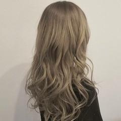 ストリート グラデーションカラー 透明感 ロング ヘアスタイルや髪型の写真・画像