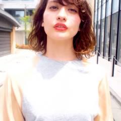 モテ髪 ストリート ウェットヘア 愛され ヘアスタイルや髪型の写真・画像