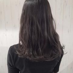 暗髪 透明感 ナチュラル ロング ヘアスタイルや髪型の写真・画像