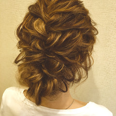 大人かわいい ヘアアレンジ セミロング 外国人風 ヘアスタイルや髪型の写真・画像