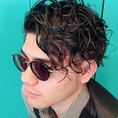 メンズ ストリート パーマ 坊主 ヘアスタイルや髪型の写真・画像